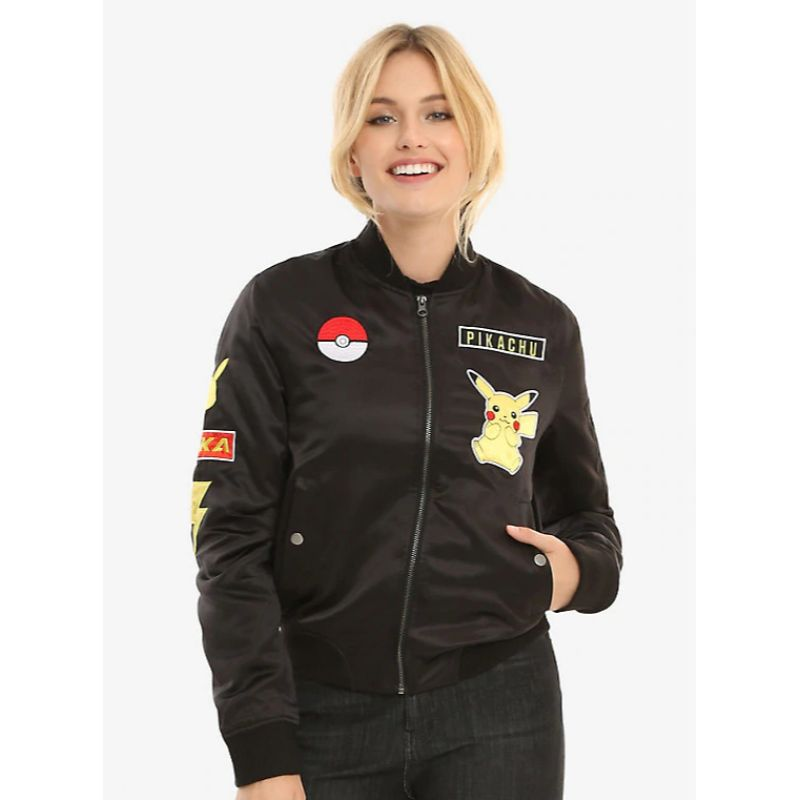 Pokemon Pikachu Leather Jacket