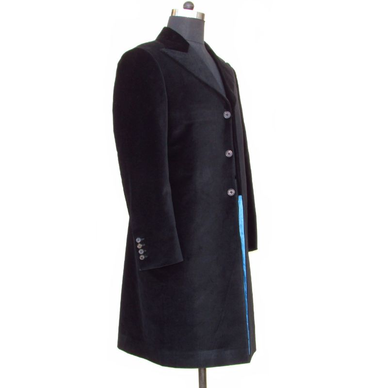 Black Twelfth Doctor Jacket