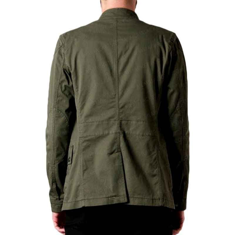 Spiderman Homecoming Tom Holland Green Cotton Jacket