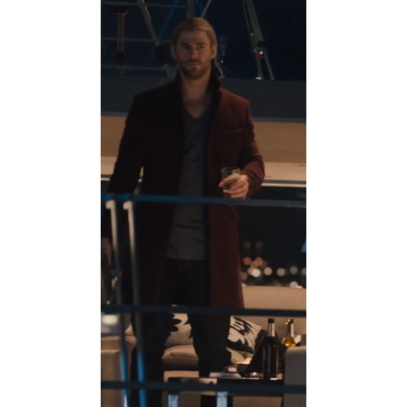 Avengers Age Of Ultron Chris Hemsworth Coat