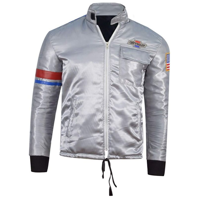 Moonrunners Silver Satin Jacket