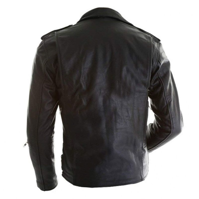 Terminator 3 T3 Arnold Schwarzenegger Leather Jacket