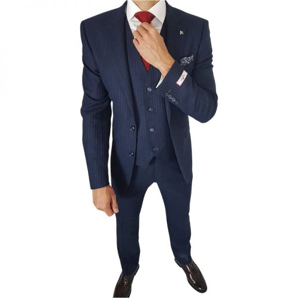 Casino Royale Blue Suit