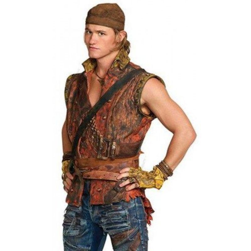 Descendants 2 Dylan Playfair Leather Vest