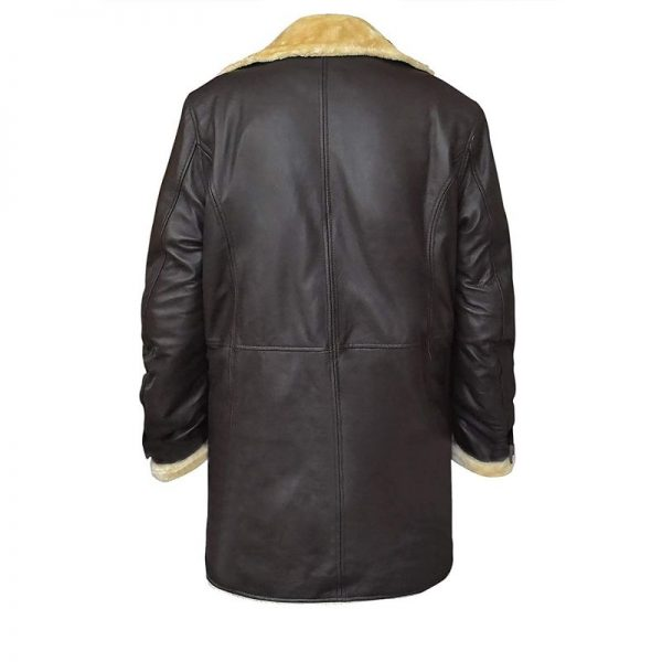 Superfly Trevor Jackson Brown Shearling Coat