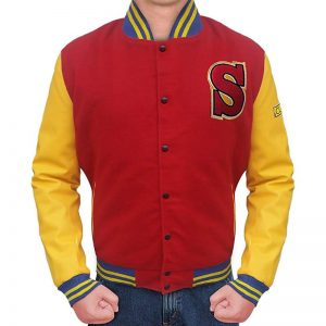 Smallville Superman Varsity Jacket