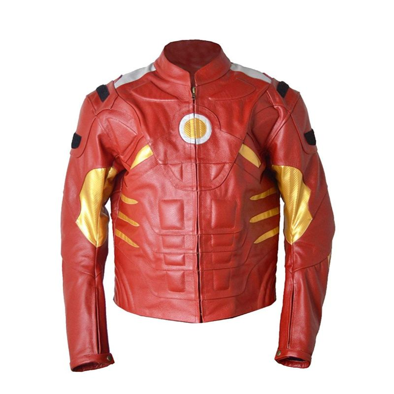 Ironman Leather Motorbike Jacket
