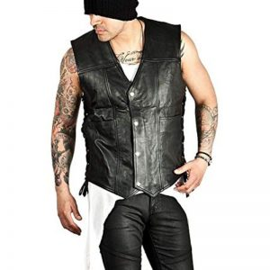 Daryl Dixon Leather Vest