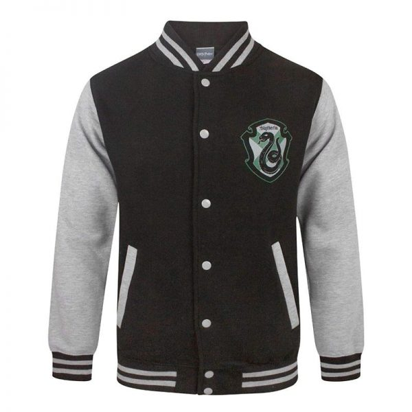 Harry Potter Slytherin Varsity Jacket