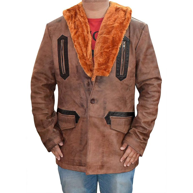 Arthur Curry Justice League Leather Coat