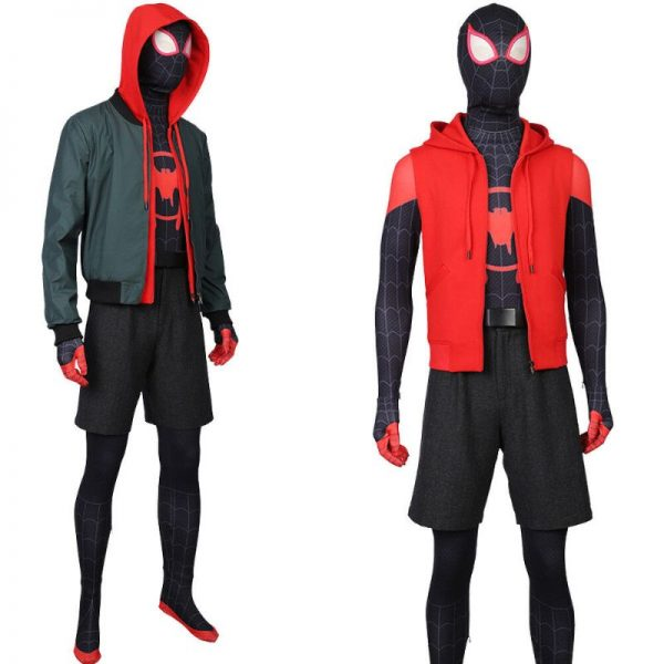 Spiderman Into the Spider-Verse Miles Morales Jacket