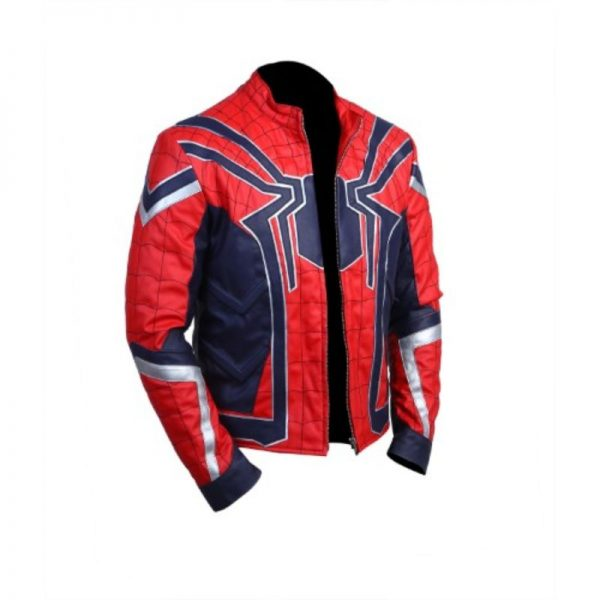 Avengers Infinity War Spiderman Jacket