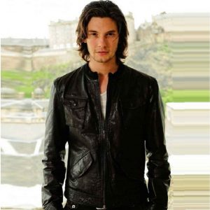 Ben Barnes Leather Jacket