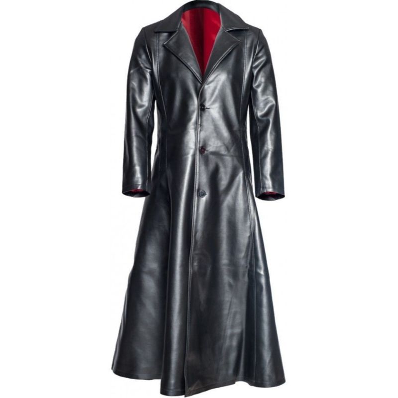 Blade Leather Coat