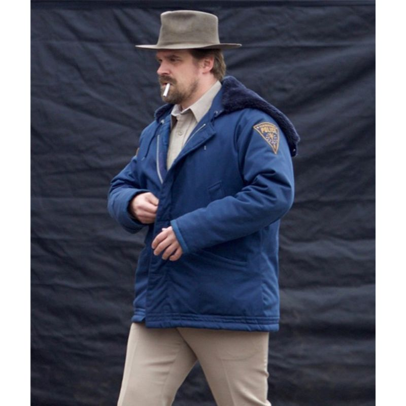 Stranger Things Jim Hopper Jacket