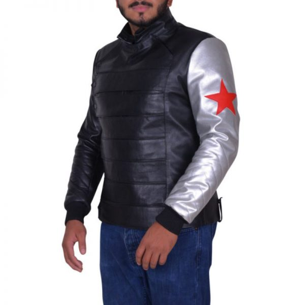 Bucky Barnes Civil War Jacket