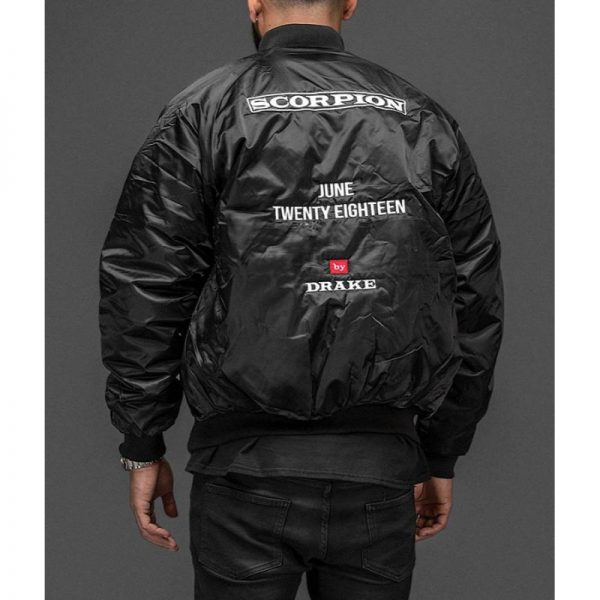 Drake Bomber Scorpion Jacket