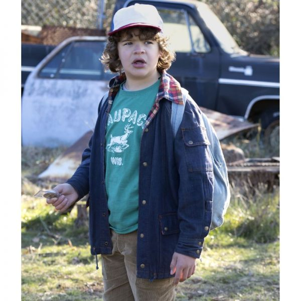 Dustin Henderson Stranger Things Denim Jacket