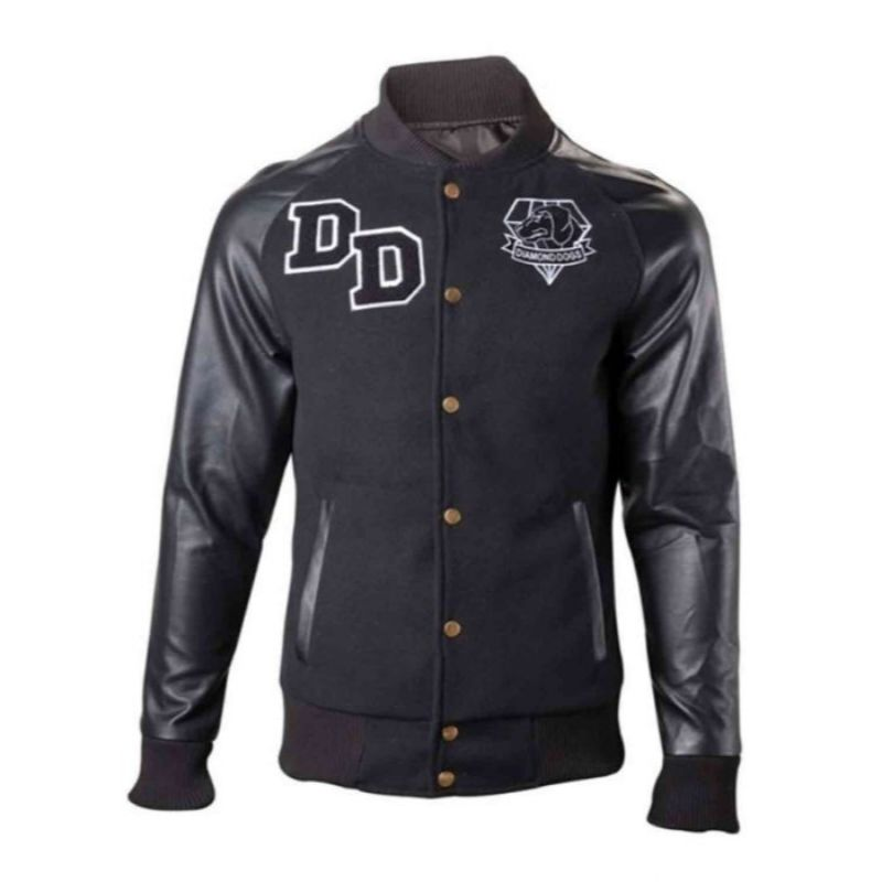 Metal Gear Solid Letterman Diamond Dogs Jacket