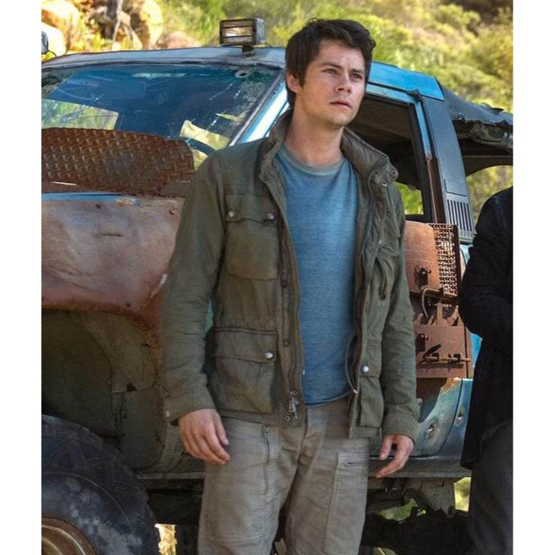 Maze Runners Thomas Dylan O'Brien Cotton Jacket