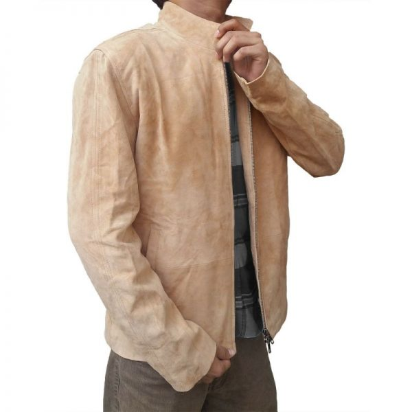 Spectre Brown Suede Jacket