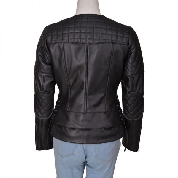 Miranda Kerr Balenciaga Leather Jacket