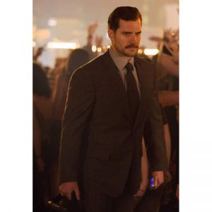 Mission Impossible Fallout Henry Cavill Brown Suit