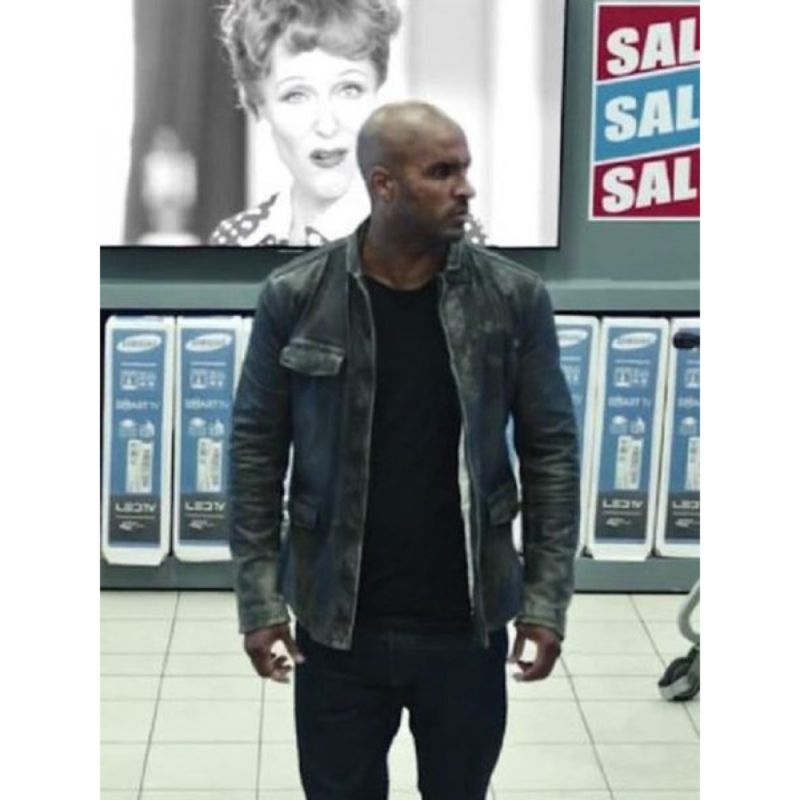 Ricky Whittle American Gods Shadow Moon Jacket