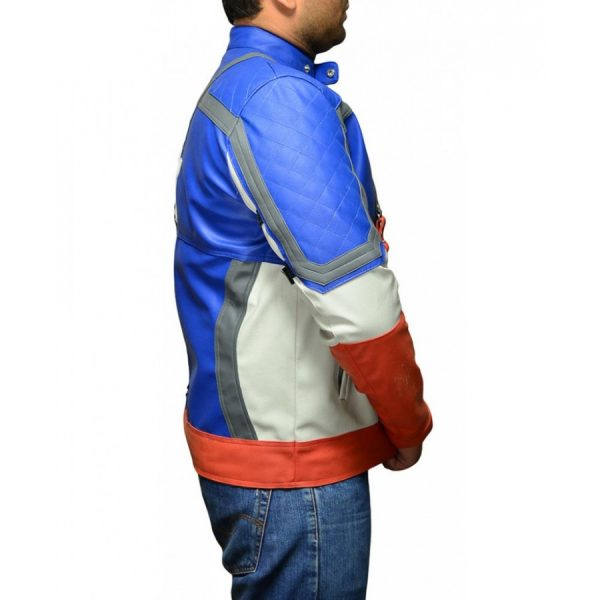 First Avengers Captain America Jacket