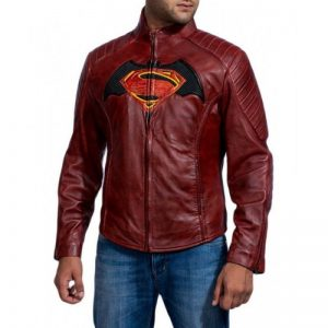 Batman vs Superman Leather Jacket
