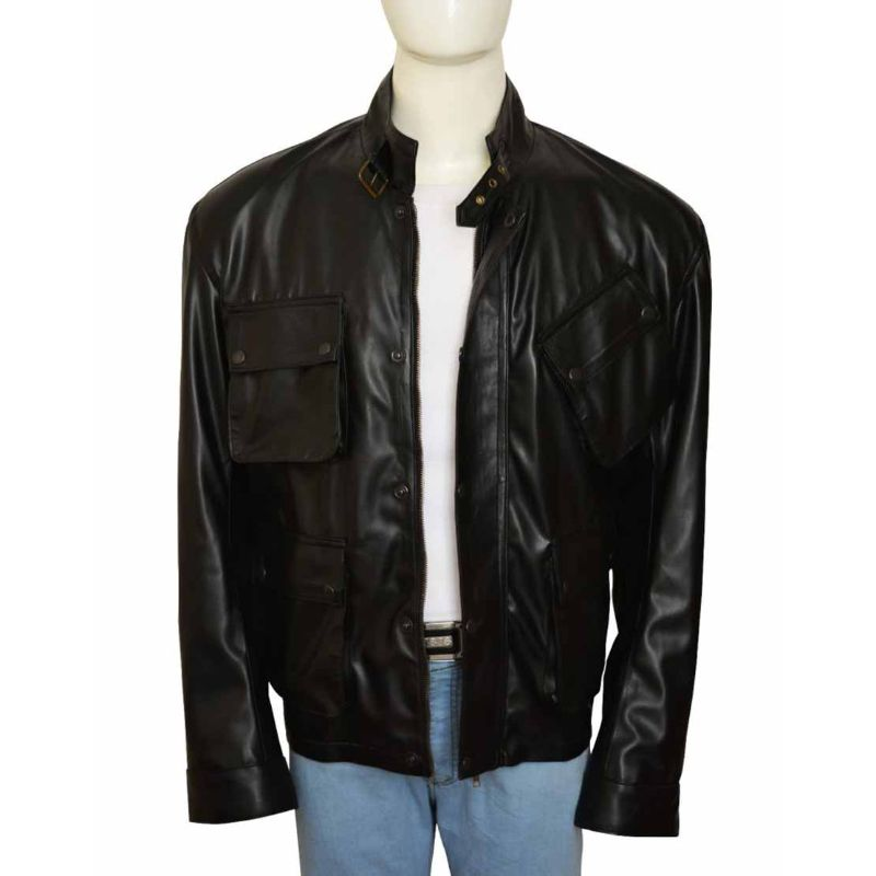 Blitz Jason Statham Leather Jacket