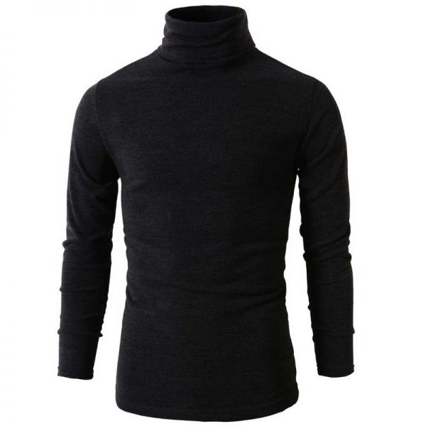 Black Spectre James Bond Turtleneck Sweater