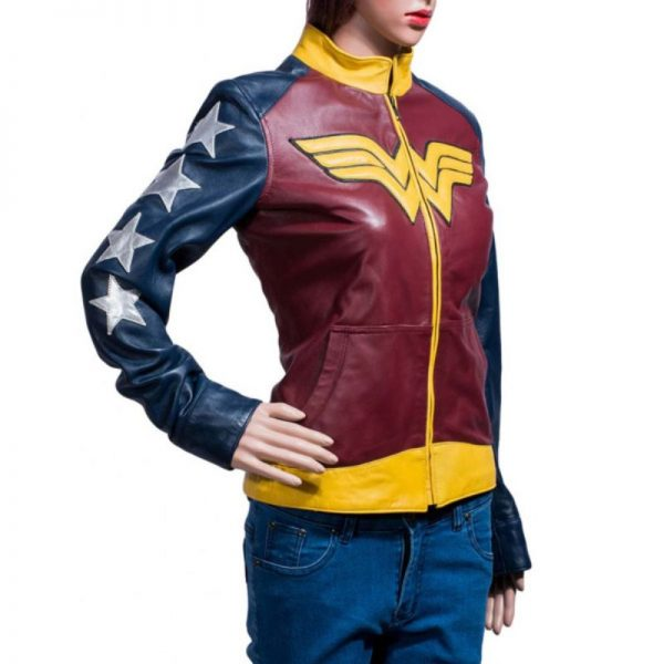 Wonder Woman Leather Jacket