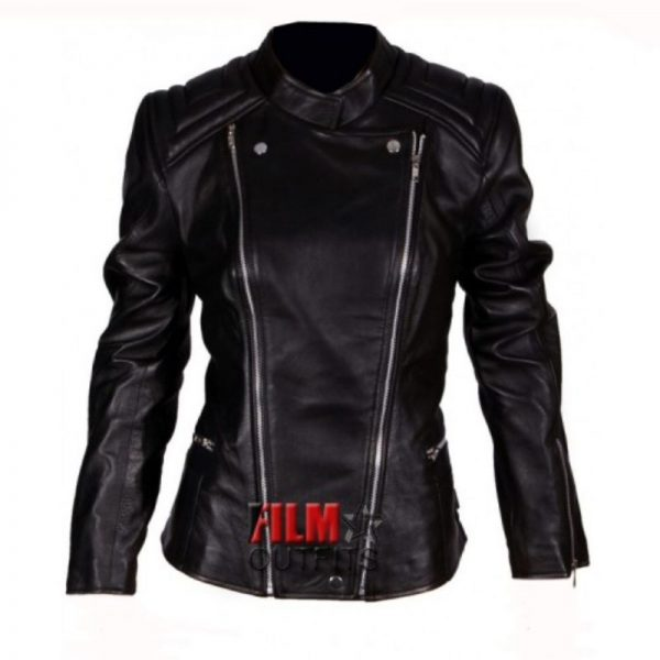 Abbey Clancy Leather Jacket