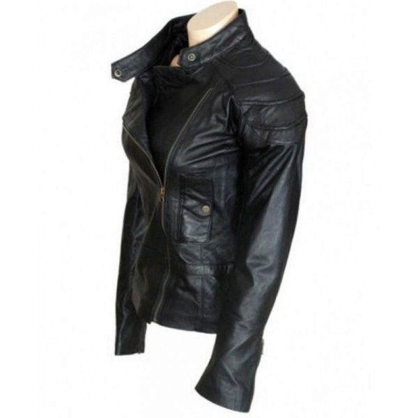 Wanted Angelina Jolie Leather Jacket