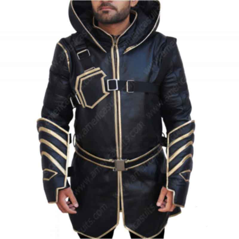 Avengers Endgame Jeremy Renner Leather Jacket