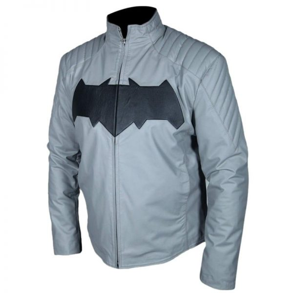 Ben Affleck Batman Grey Jacket