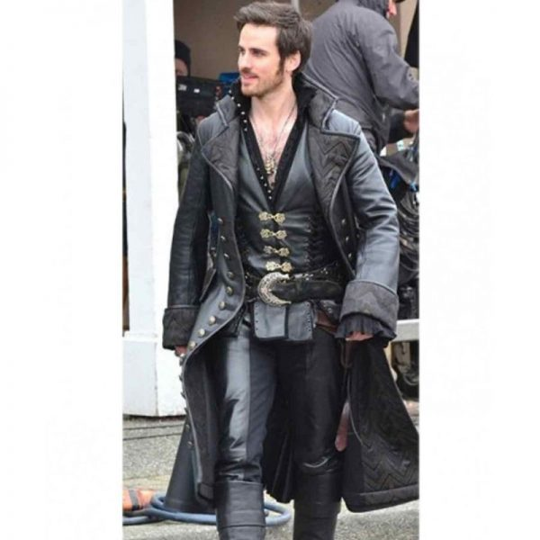 Captain Hook Once Upon a Time Coat Jacket