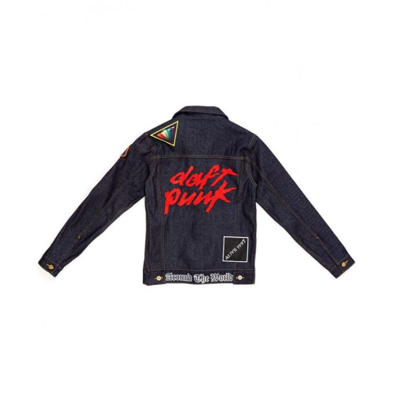 Daft Punk Denim Jacket