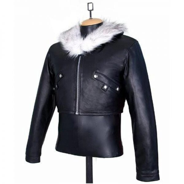 Bomber Leon Squall Leather Jacket
