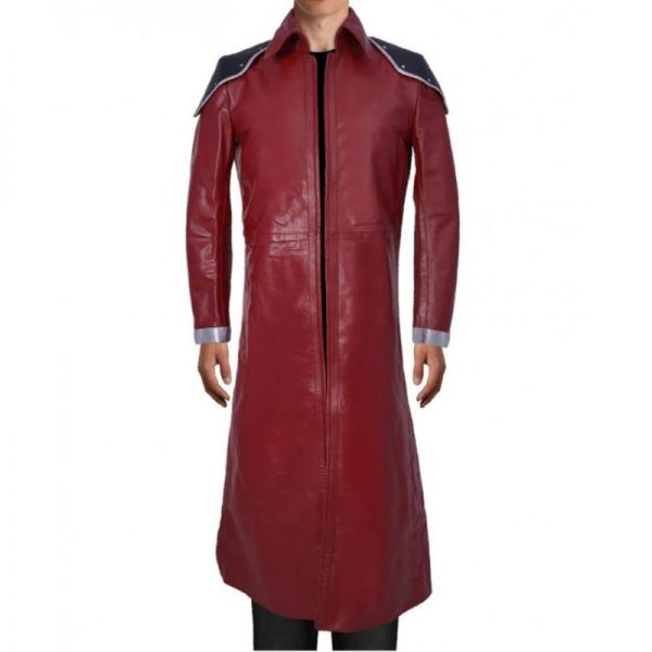 Red Final Fantasy Trench Coat