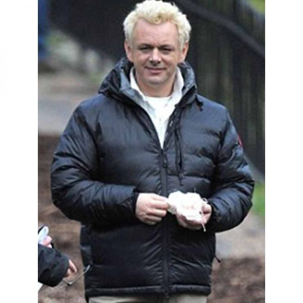 Good Omens Aziraphale Puffer Jacket