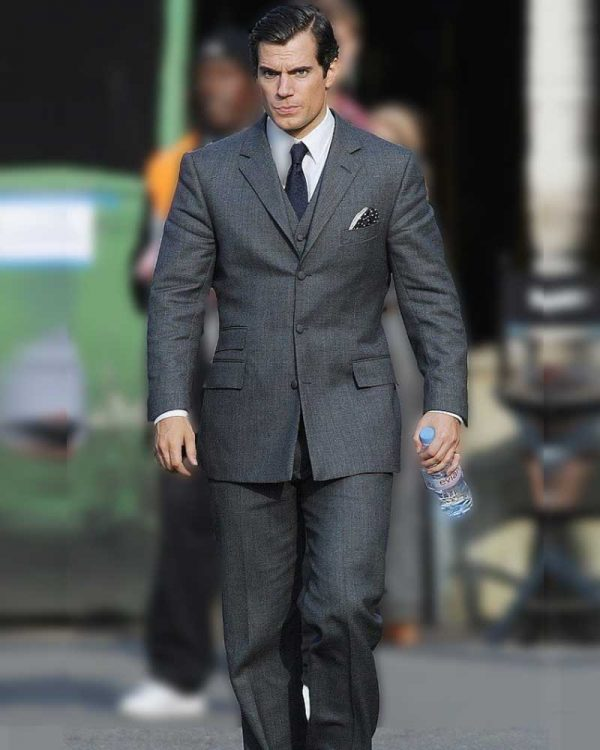 Henry Cavill UNCLE Suit