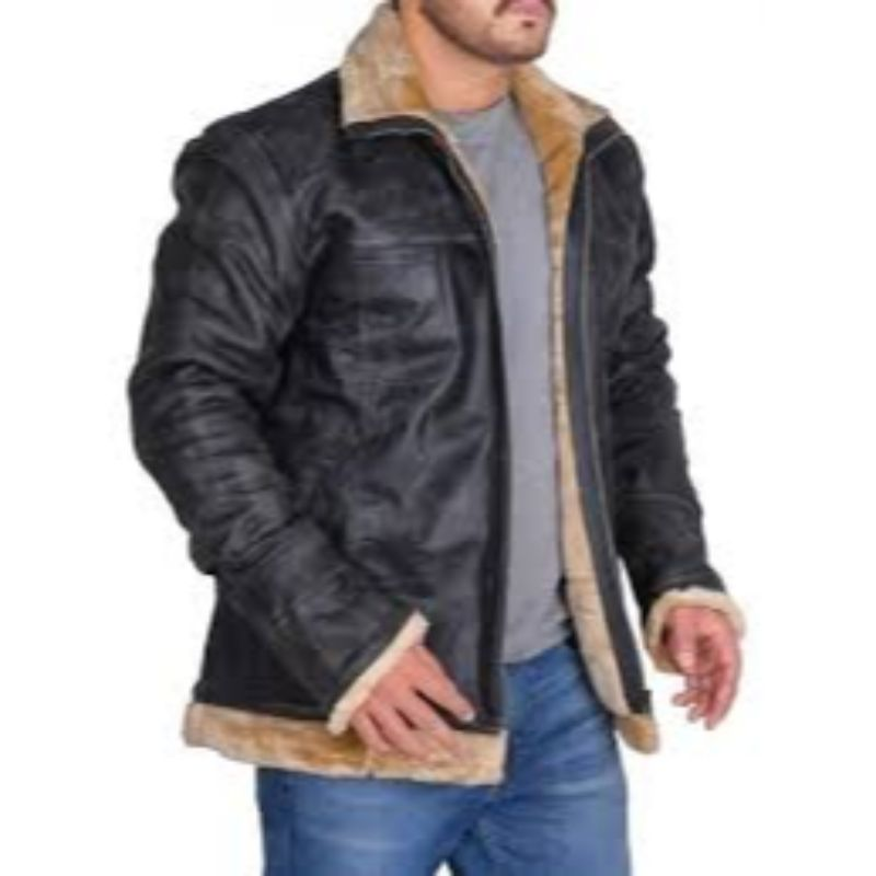 Vin Diesel Triple X Leather Fur Jacket