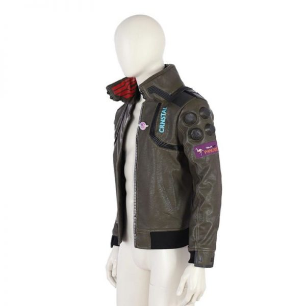 Cyberpunk 2077 Leather Jacket