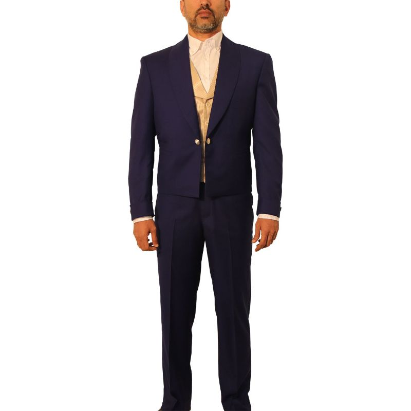 Blue James West Wild West Suit