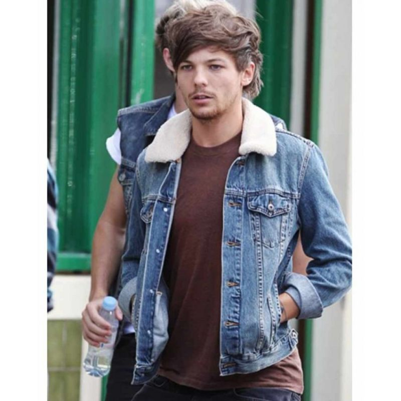 One Direction Louis Tomlinson Denim Jacket