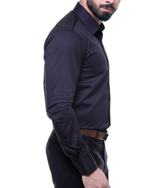 Mens Charcoal Dress Shirt