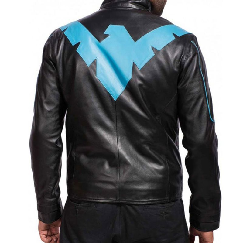 Nightwing Leather Jacket