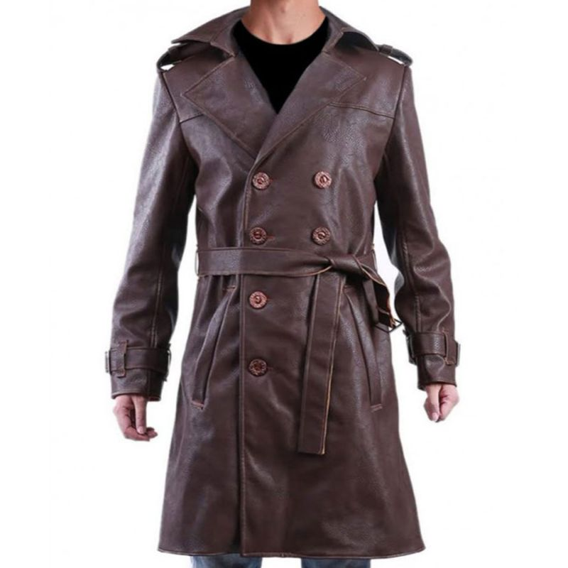 Jackie Earle Haley Watchmen Trench Coat